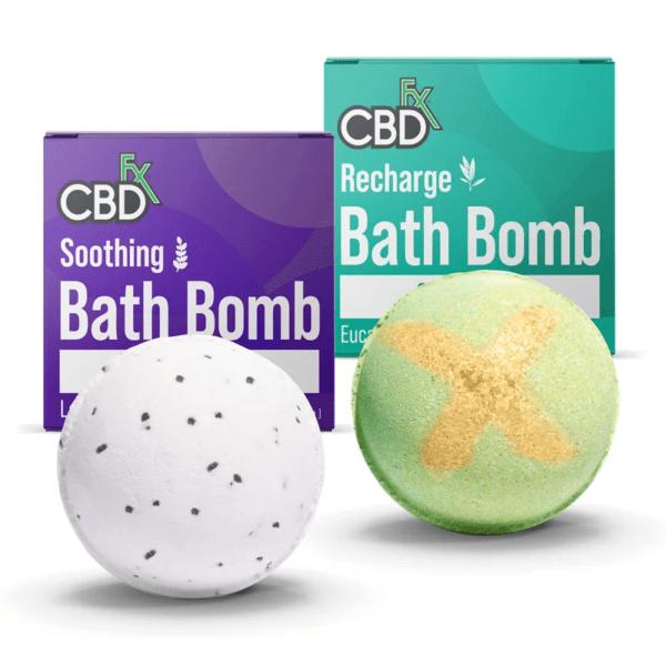 chilliwack cbdfx bath bomb soothing bundle