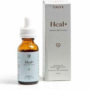 chilliwack calyx wellness heal and cbd isolate tincture 2000mg