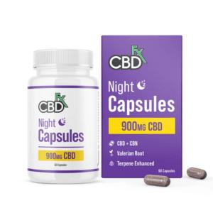 chilliwack cbdfx night capsules 900mg